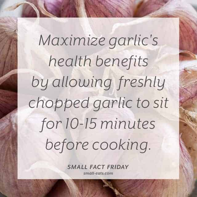 Small Fact Friday: Garlic from small-eats.com