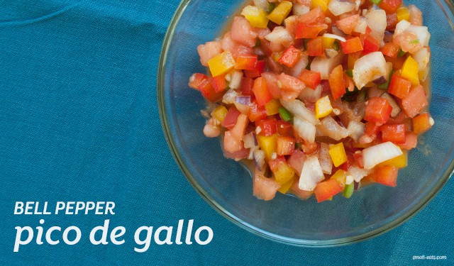 Bell Pepper Pico de Gallo from small-eats.com