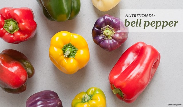 Nutrition DL: Bell Peppers from small-eats.com