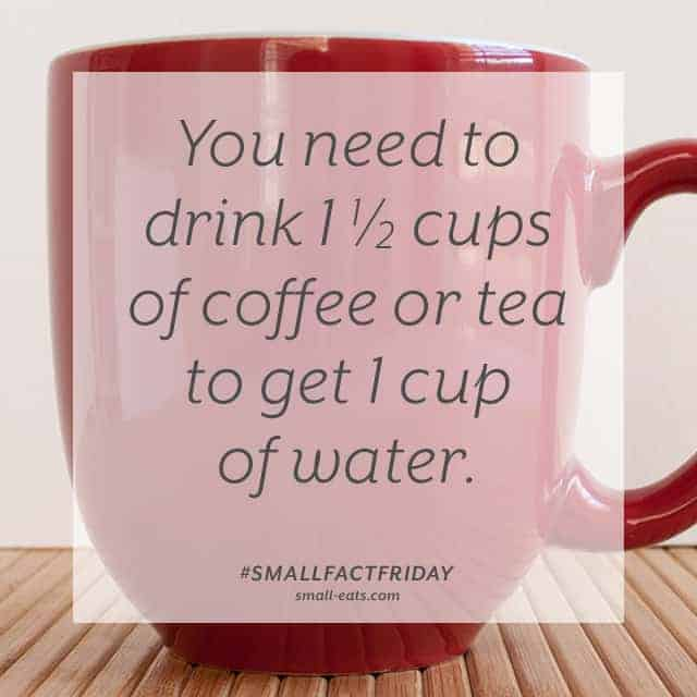 Small Fact Friday: Coffee and Tea