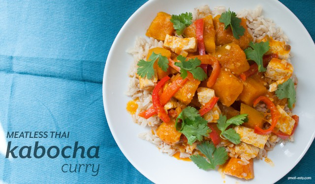Meatless Thai Kabocha Curry from small-eats.com