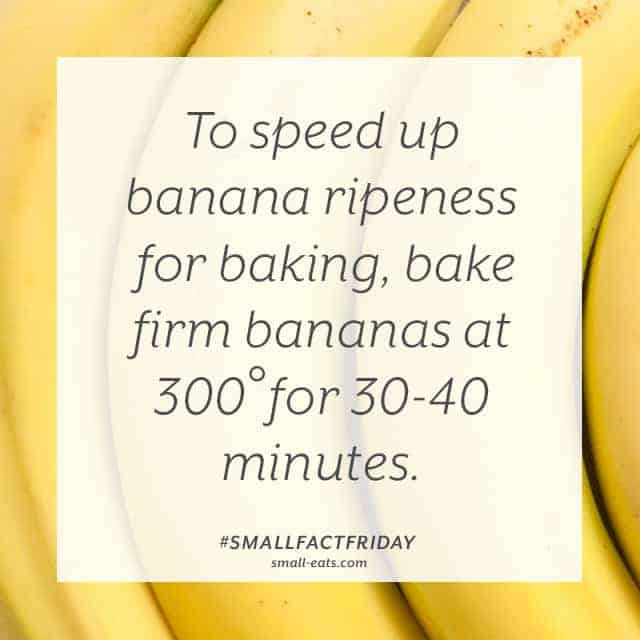 Small Fact Friday: Bananas and Ripening from small-eats.com