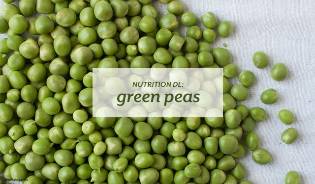 Nutrition DL: Green Peas from small-eats.com