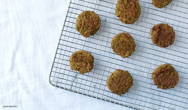 Baked Green Pea Falafel from small-eats.com