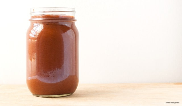 A homemade enchilada sauce that's so easy you'll never buy the canned version ever again.