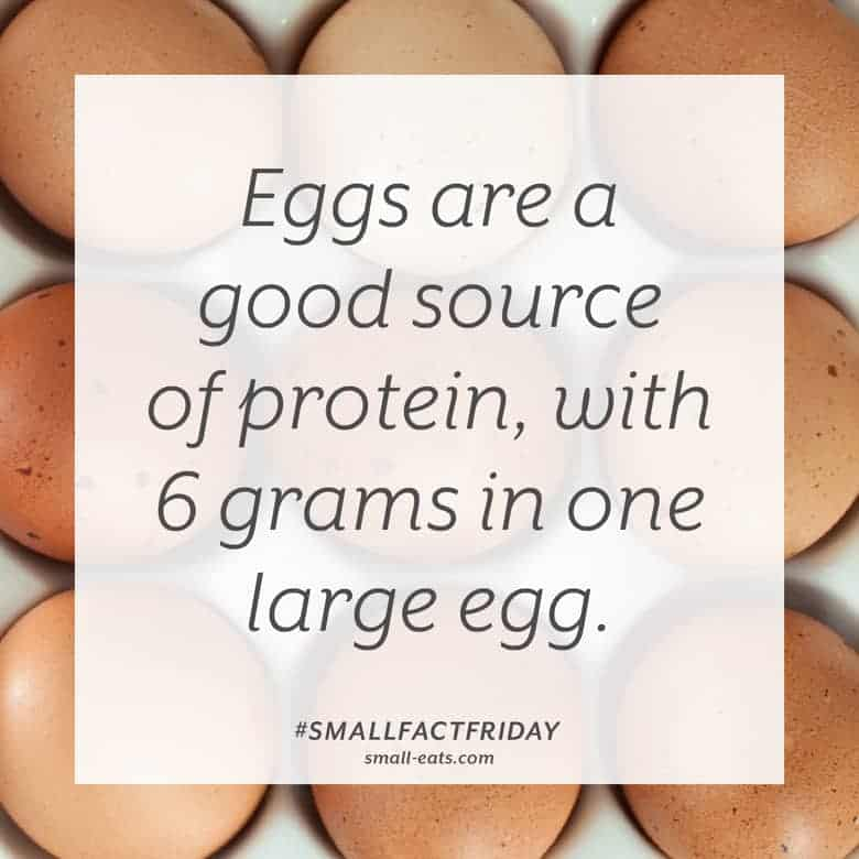 Small Fact Friday: Eggs and Protein