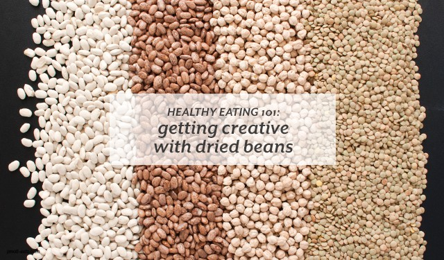 Go beyond just refried beans with your next (or first) batch of cooked beans.  | Healthy Eating 101: Getting Creative with Dried Beans from small-eats.com