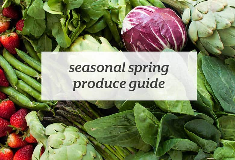 Enjoy the most nutrient dense, in season produce with the help of this handy guide. | Seasonal Produce Guide from small-eats.com