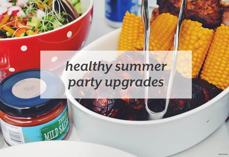 With a few simple swaps, easily make your summer party food healthier. | Healthy Summer Party Upgrades from small-eats.com