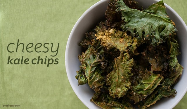 Cheesy Kale Chips from small-eats.com