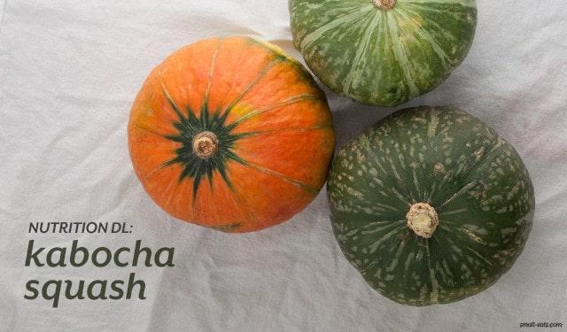 Nutrition DL: Kabocha Squash from small-eats.com