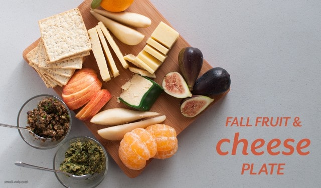 Fall Fruit and Cheese Plate from small-eats.com