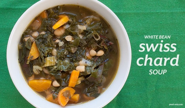 White Bean Swiss Chard Soup from small-eats.com