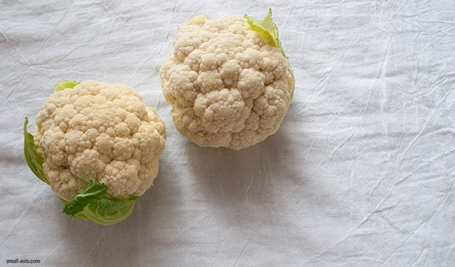 Nutrition DL: Cauliflower from small-eats.com