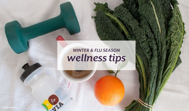 Winter and Flu Season Wellness Tips from small-eats.com