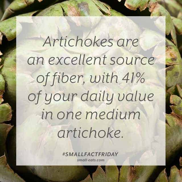 Small Fact Friday: Artichokes and Fiber from small-eats.com