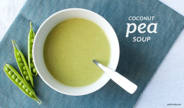 Coconut Pea Soup from small-eats.com