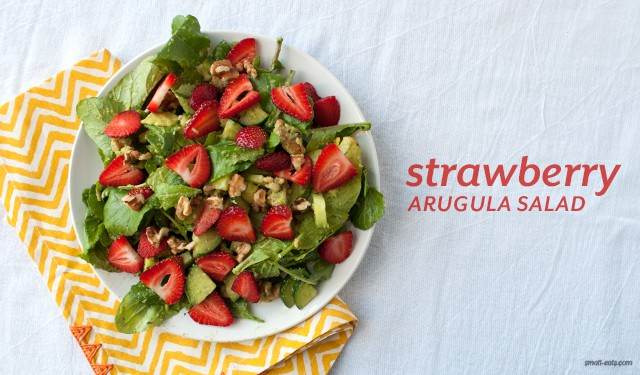 Strawberry Arugula Salad from small-eats.com