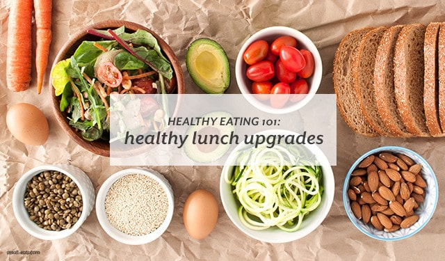 Upgrade your usual sandwich and chips to a healthier and delicious lunch with my easy tips on Azumio's blog.