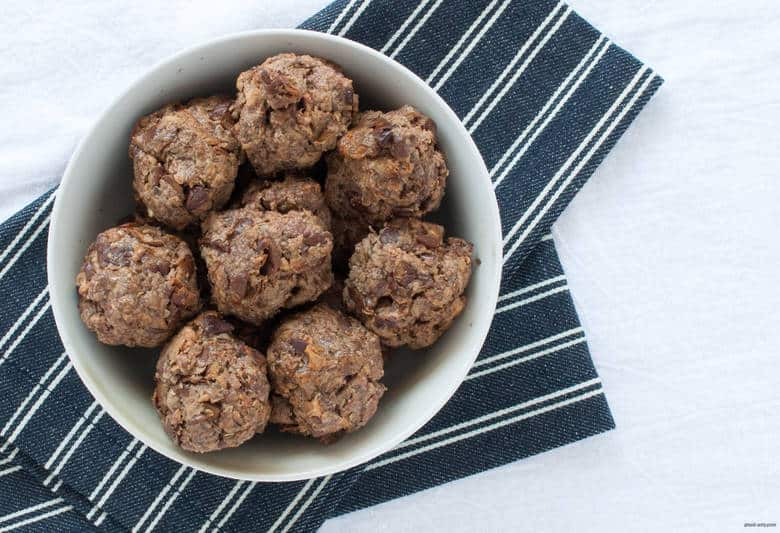 Beef up your meatball with roasted eggplant. | Paleo Eggplant Meatballs from small-eats.com