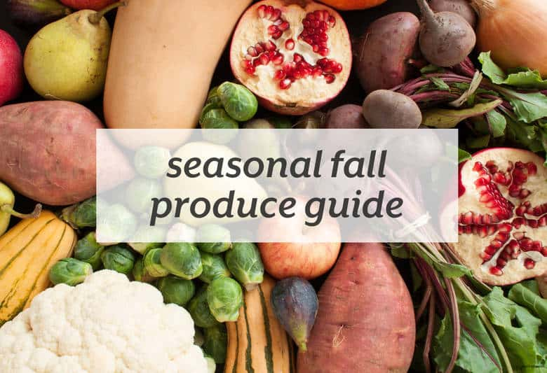 Load up on the best fruits and veggies of the fall. | Seasonal Fall Produce Guide from small-eats.com
