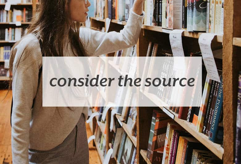 Figure out whether the latest medical or nutrition news is worth listening to or not. | Consider the Source from small-eats.com