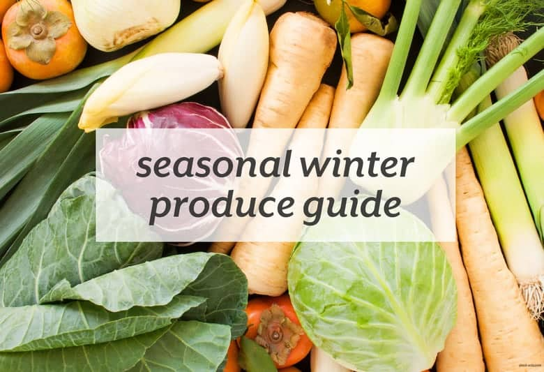 Load up on the best fruits and veggies of the winter. | Seasonal Winter Produce Guide from small-eats.com