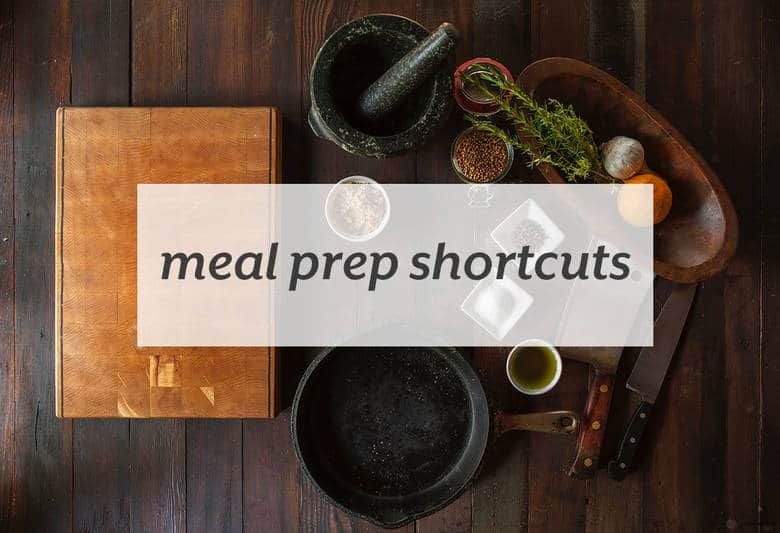 Make meal prep easier with some simple tips. | Meal Prep Shortcuts from small-eats.com