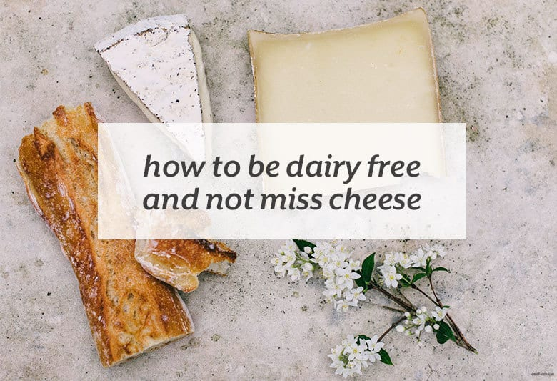 Find ways to enjoy a cheesy taste with none of the cheese. | How to Be Dairy Free and Not Miss Cheese from small-eats.com