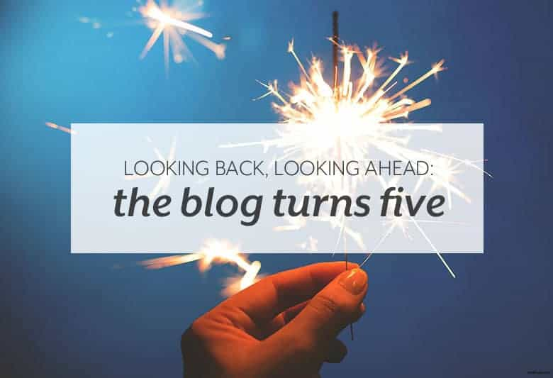 Look back on five years of small eats and where small eats is going. | Looking Back, Looking Ahead: The Blog Turns Five from small-eats.com