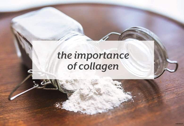 Why supplementing with collagen is important for your health. | The Importance of Collagen from small-eats.com