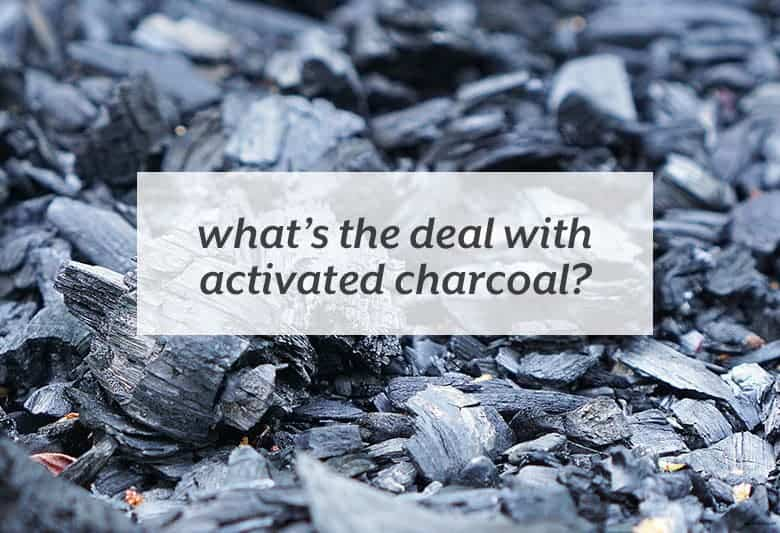 Why activated charcoal can be beneficial and how to use it. | What's the deal; with Activated Charcoal? from small-eats.com