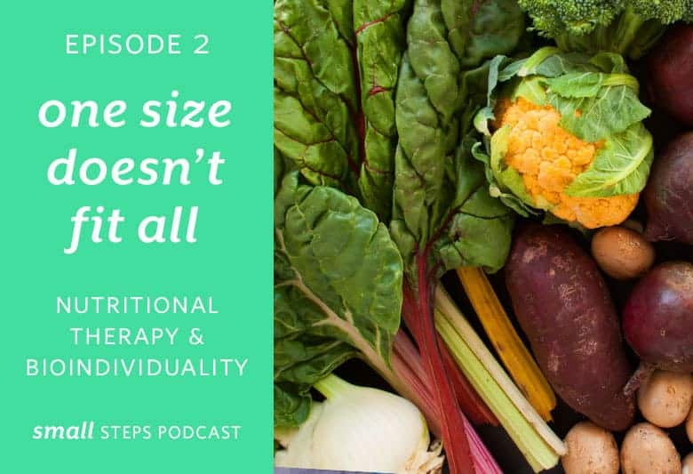 One Size Doesn't Fit All: Nutritional Therapy & Bioindividuality from small-eats.com