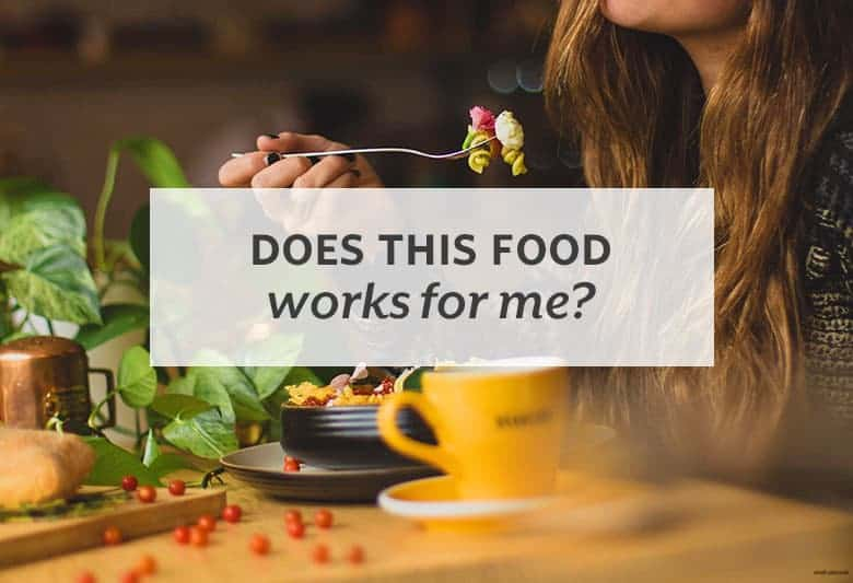Tune into your body's responses to see if your body agrees with the foods you're eating. | Does This Food Work for Me? from small-eats.com