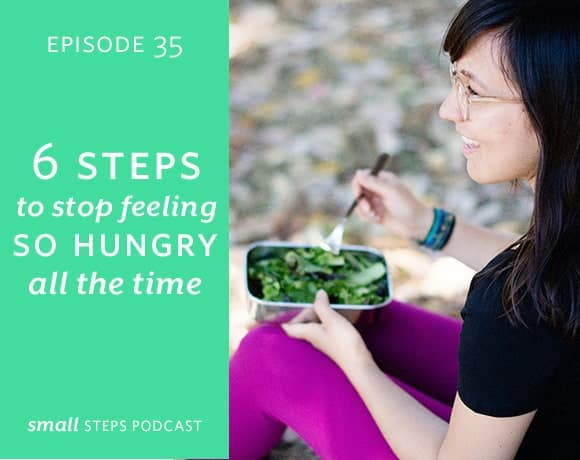 Small Steps Podcast #35: 6 Steps to Stop Feeling So Hungry All the Time from small-eats.com