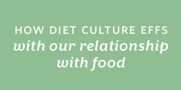 Small Steps Podcast #99: How Diet Culture Effs with Our Relationship with Food